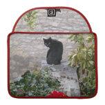 Gato del jardín fundas para macbook pro