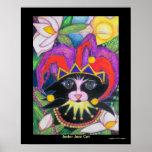 Gato del jazz del bufón posters