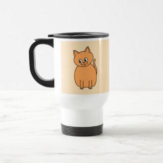 Gato del jengibre tazas