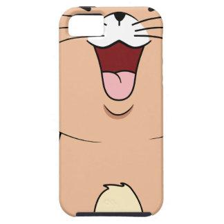 gato del kawaii iPhone 5 carcasa