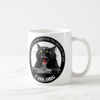 Gato del laser de la dominación de C4SS Taza De Café