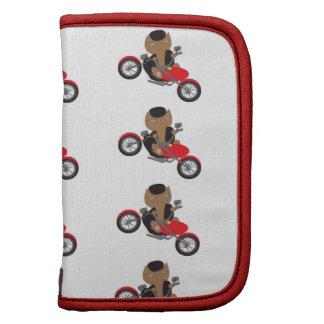 Gato del motorista de la motocicleta planificadores