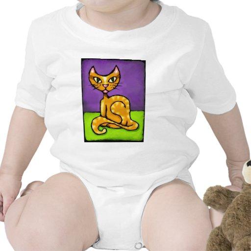 gato del muchacho trajes de bebé