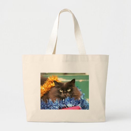 Gato del navidad bolsa