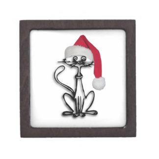 Gato del navidad caja de regalo de calidad