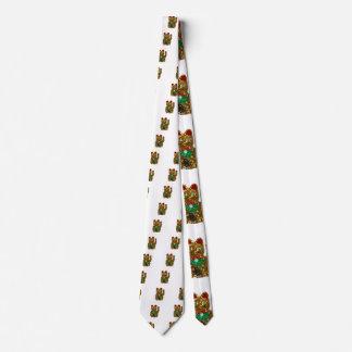 gato del neko del maneki corbatas personalizadas
