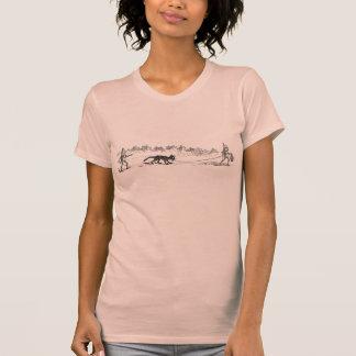 Gato del parásito del rescate de los brownie camiseta