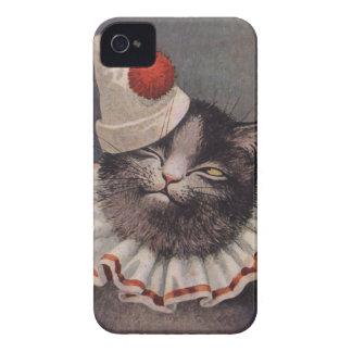 Gato del payaso iPhone 4 coberturas