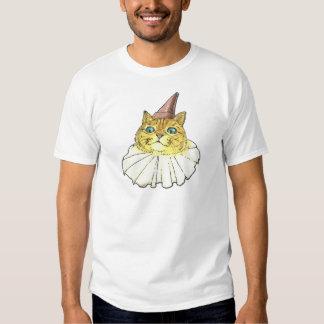 Gato del payaso playera