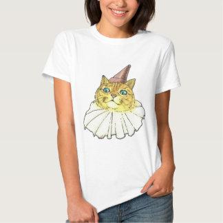 Gato del payaso playeras