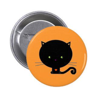 Gato del Pin Kawaii de Halloween