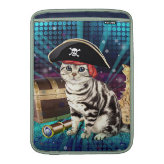 gato del pirata fundas MacBook