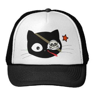Gato del pirata gorra