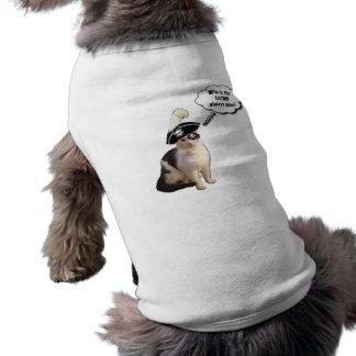 Gato del pirata ropa de perro