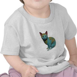 Gato del planeta camiseta