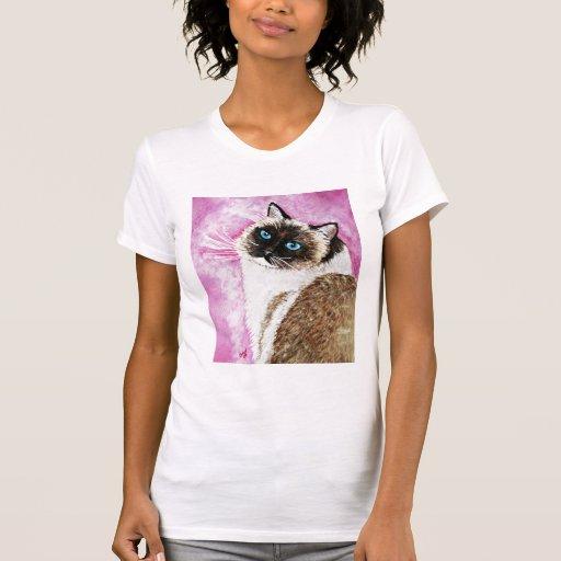 gato del ragdoll camisetas