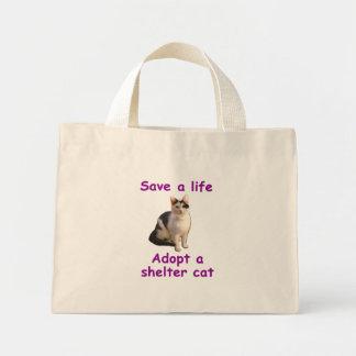 Gato del refugio bolsa