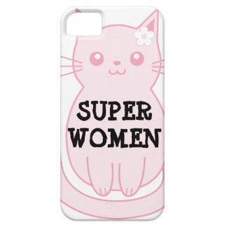 Gato del rosa del caso del iPhone 5/5S de Barely iPhone 5 Carcasa
