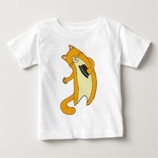 Gato del saludo camisas