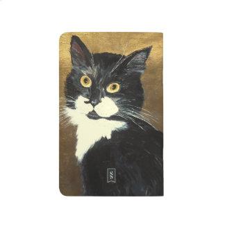 Gato del smoking - diario del bolsillo cuadernos grapados