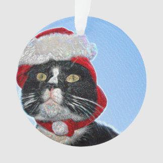 gato del smoking que lleva la chispa del gorra de