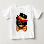 Gato del sombrero de copa t shirts