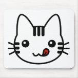 Gato del sushi alfombrillas de ratón