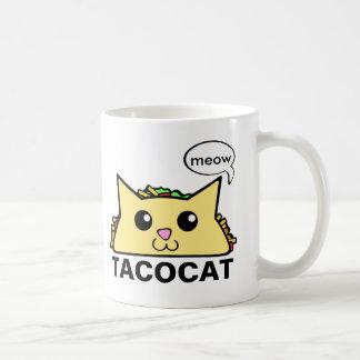 Gato del Taco Taza De Café