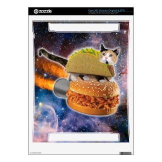 gato del taco y hamburguesa del cohete en el calcomanías para xbox 360