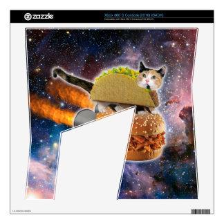 gato del taco y hamburguesa del cohete en el calcomanías para xbox 360 s