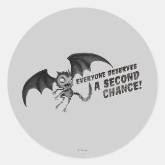 Gato del vampiro: Cada uno merece una segunda Pegatina Redonda