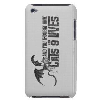 Gato del vampiro: Y usted pensó que solamente los  Case-Mate iPod Touch Carcasas