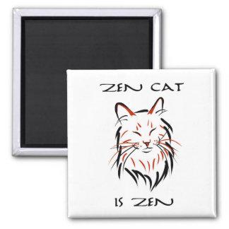 Gato del zen - imán
