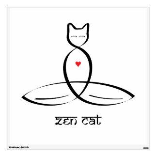 Gato del zen - texto sánscrito del estilo
