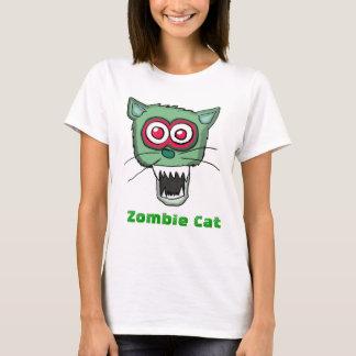 Gato del zombi playera