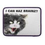 Gato del zombi puedo favorable manga de Haz Brainz Funda Macbook Pro
