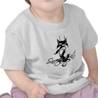 Gato descarado camiseta