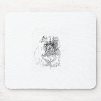 Gato dibujo de la pluma-y-tinta