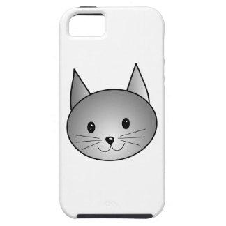 Gato. Diseño gris adorable del gatito Funda Para iPhone SE/5/5s