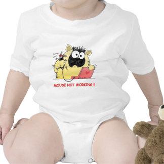 Gato divertido de Hilarous Traje De Bebé