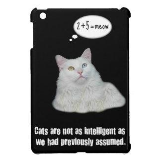 Gato divertido - mini cubierta del iPad