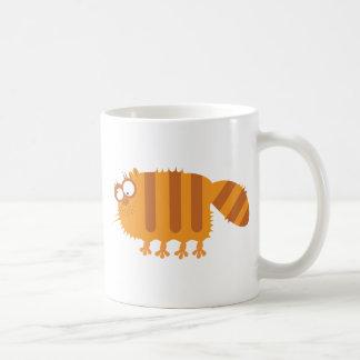 Gato divertido taza
