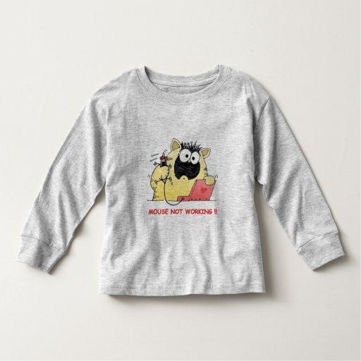 Gato divertido tee shirts