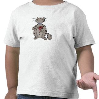 Gato e hilado camiseta