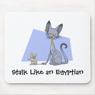 Gato egipcio Mousepad Tapete De Raton