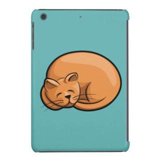 Gato el dormir funda de iPad mini