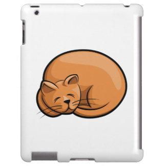 Gato el dormir funda para iPad