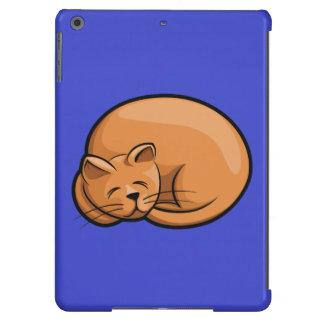Gato el dormir funda para iPad air