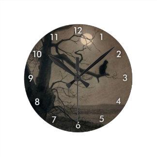 Gato en el claro de luna, Alejandro Steinlen Reloj Redondo Mediano