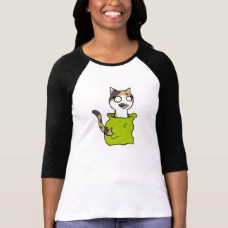 Gato en el saco Shirt Camiseta